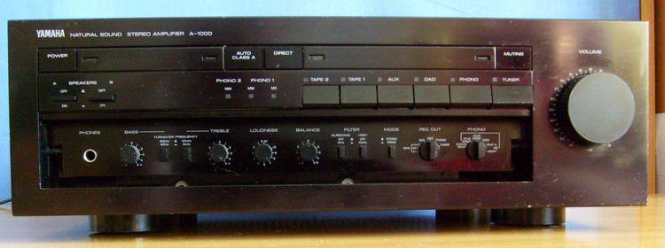 yamaha a 1000 integrated amplifier audiobaza. Black Bedroom Furniture Sets. Home Design Ideas