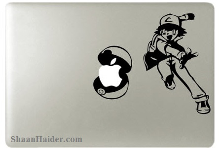 Pokemon MacBook Stickers and Decals