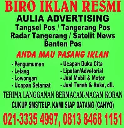 Biro IKlan Media Koran & Online