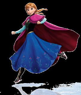 Anna patinando