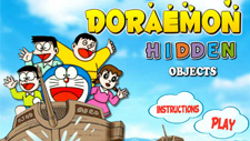 Doraemon Hidden Objects Game Play Online