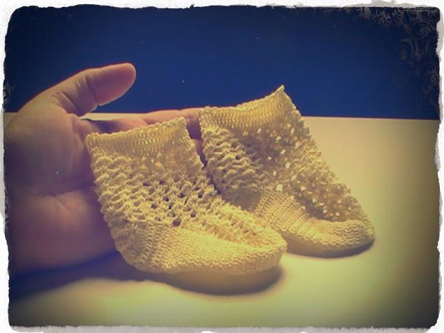 Calcetines para bebés de 0 a 3 meses a crochet | Margarita Knitting