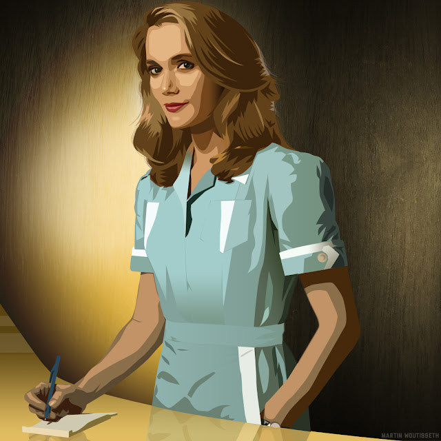 Twin peaks illustrated - Norma Jennings