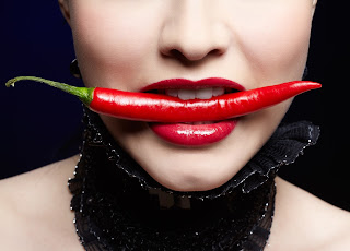 Foods with capsaicin, like peppers, help your body fight off sickness.