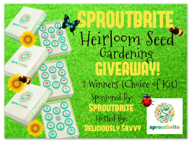 Blogger Opp Heirloom Seed Gardening
