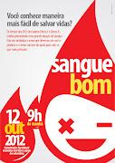 CARTAZ SANGUE BOM (sangue bom)