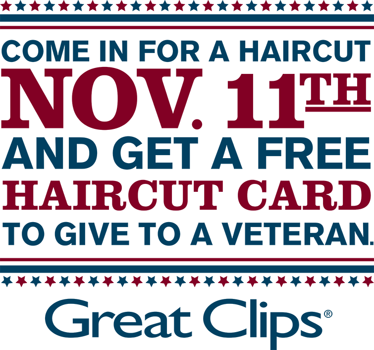 Great Clips Veterans Day Free Haircut