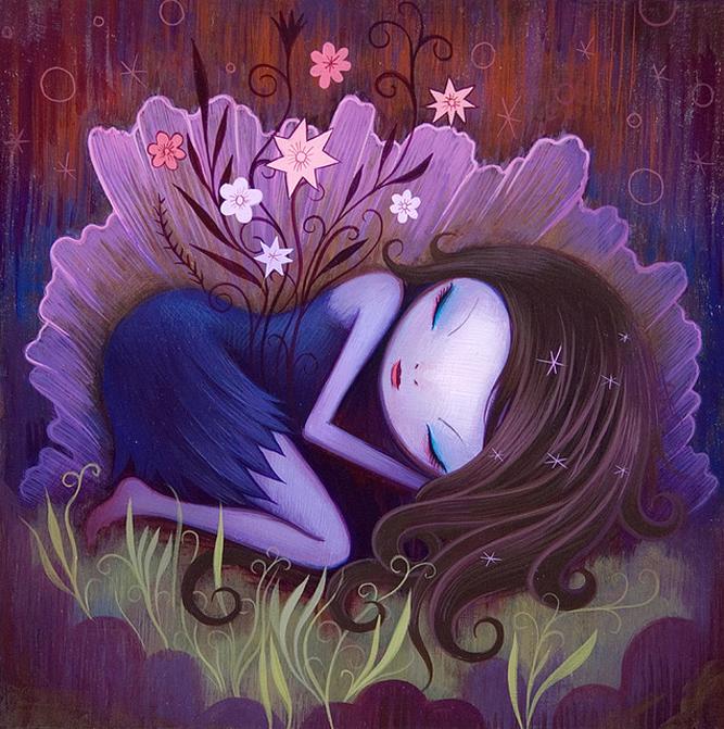 Painting jeremiah ketner art for your wallpaper for Fairy painting easy