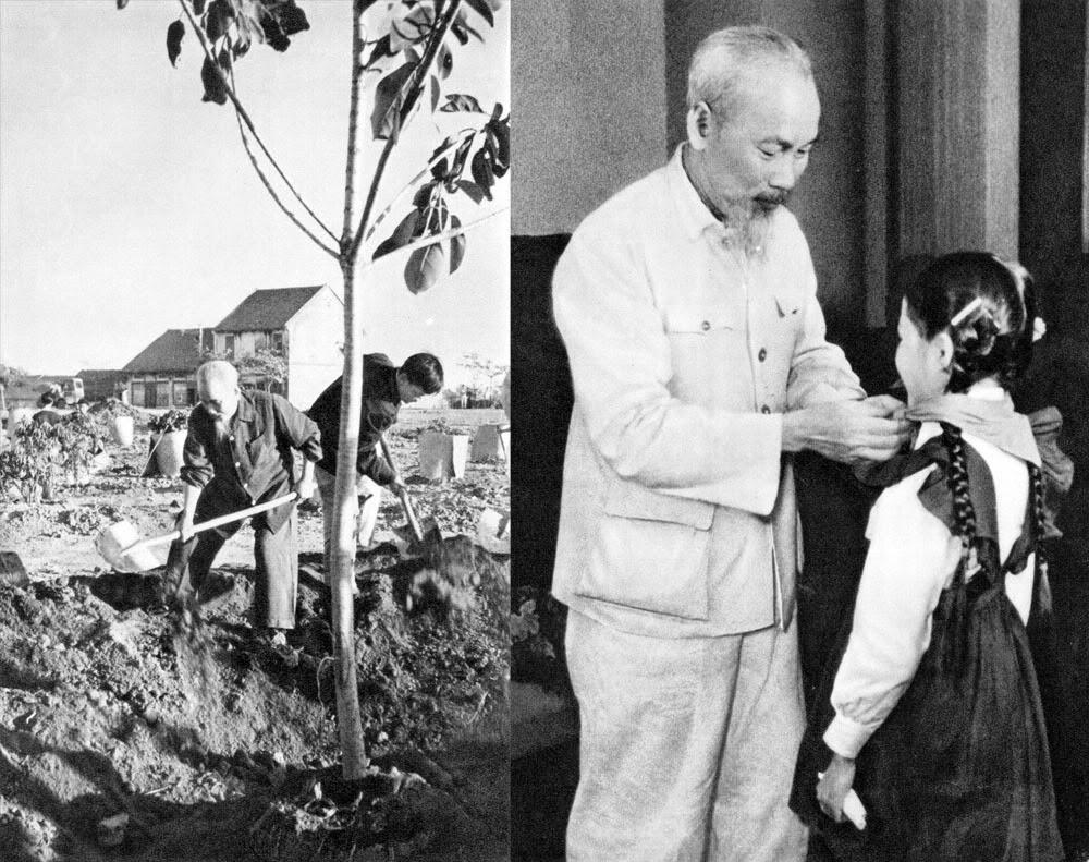 Hình Ảnh đẹp về bác Hồ Chí Minh với thiếu nhi