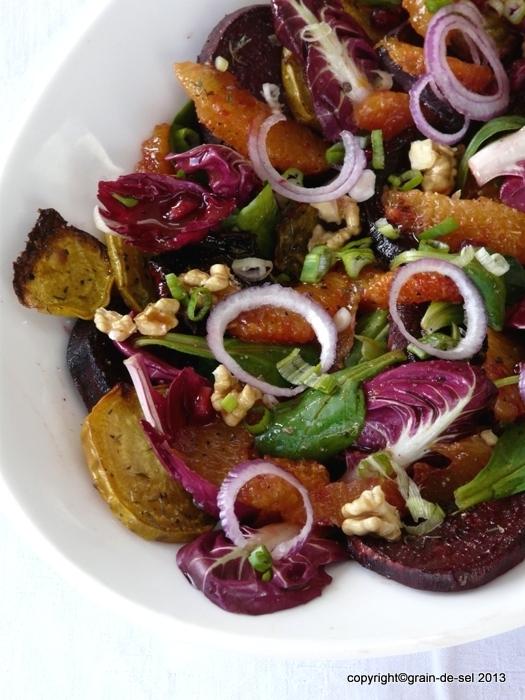Aus Zwei mach Eins: Rote Bete Salat mit Orangen