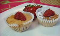 cupcakes con fresa