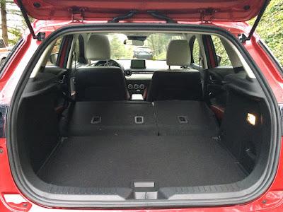 Mazda CX-3 cargo room
