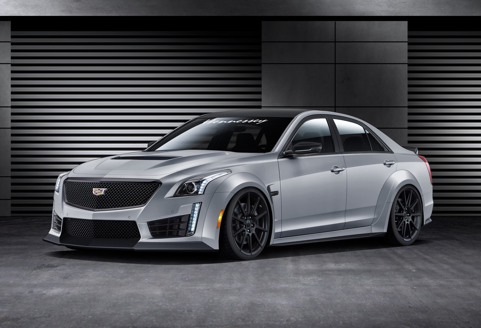 hennessey bumps new 2016 cadillac cts v up to 1 000 horses. Black Bedroom Furniture Sets. Home Design Ideas