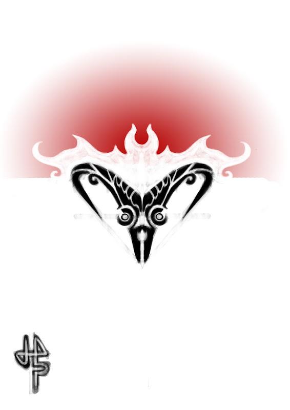Motif: Aries tattoo design title=