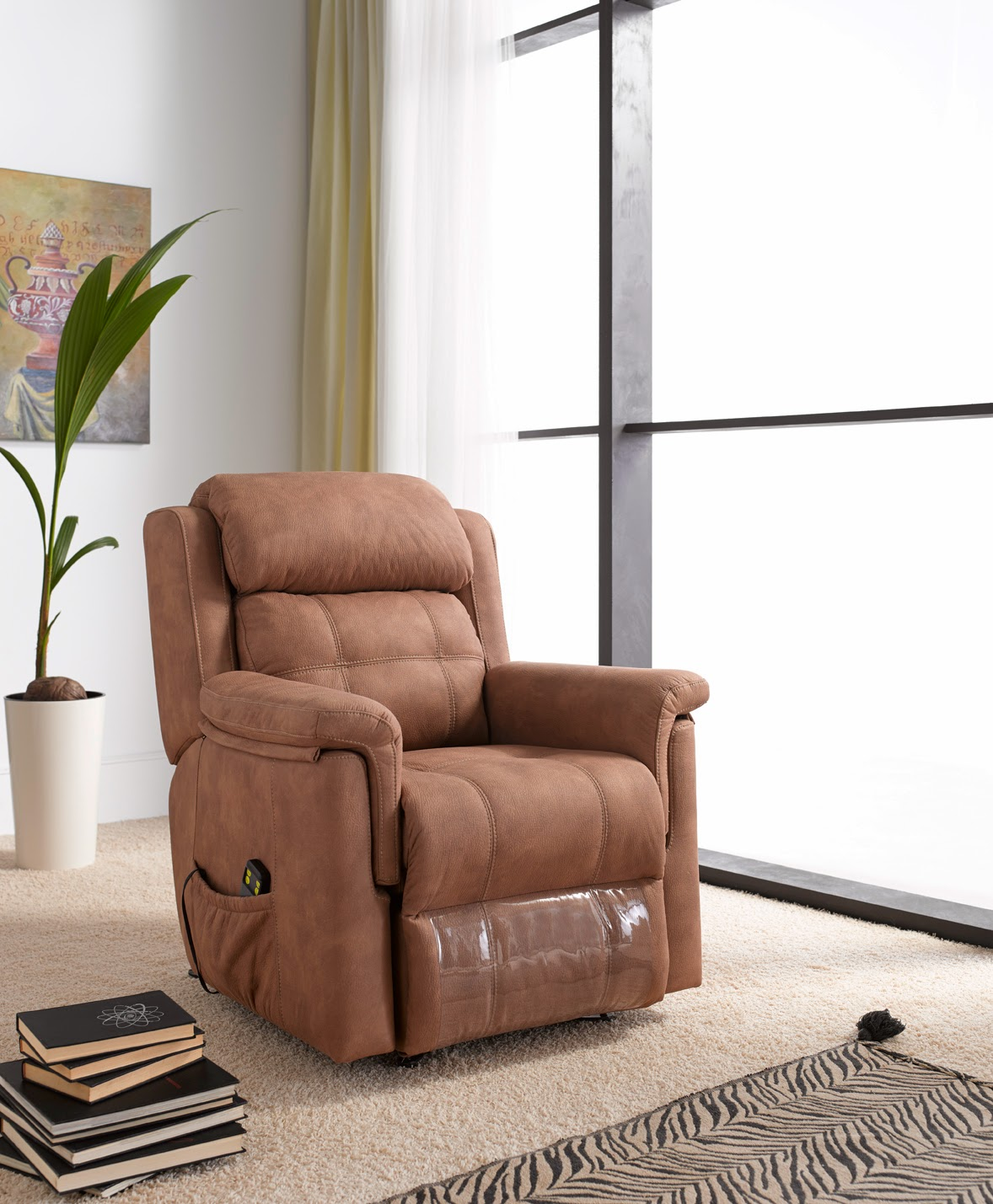 SILLON RELAX 2 MOTORS POWER LIFT