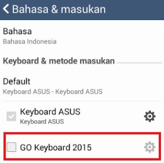 Cara Mengganti Keyboard Di Android Tanpa Root