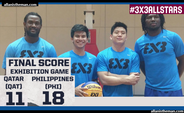 Philippines defeats Qatar, 18-11 (REPLAY VIDEO) - FIBA 3x3 All Stars 2015 Exhibition Game