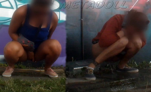 Rock Festival Piss 2015_147 (Outdoor Peeing Voyeur)