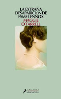 cuberta do libro La extraña desaparición de Esme Lennox