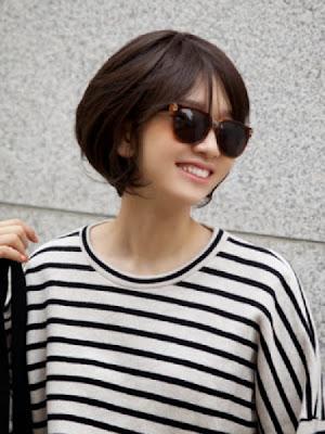 Varian Cantik Untuk Model Rambut Pendek Wanita Di Tahun - Gaya rambut pendek elegan