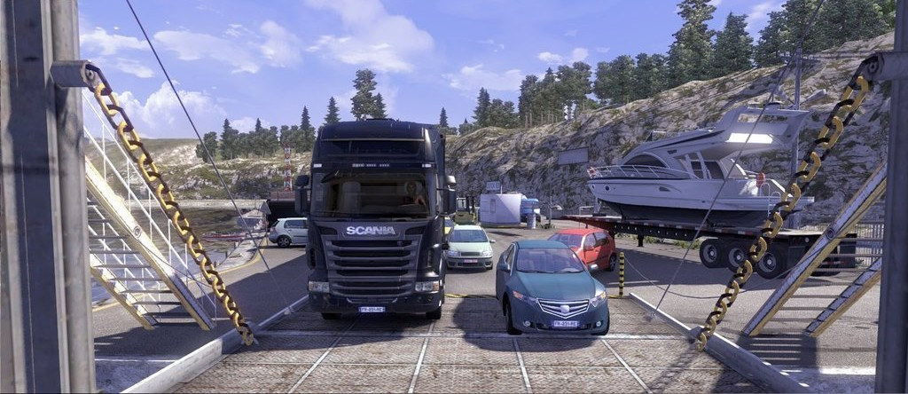 SCANIA Truck Driving Simulator - Free download and