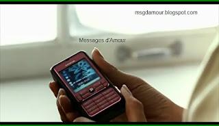 Messages d'amour et SMS d'amour