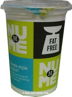 Morrisons NuME Fat Free Greek Yogurt pot