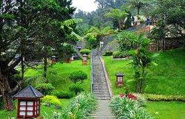 puncak villa