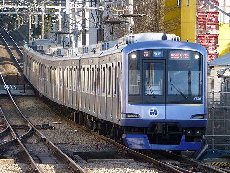東急東横線 各停 武蔵小杉行き Y500系