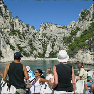 Tourists - Marseille Calanques Boat Tour