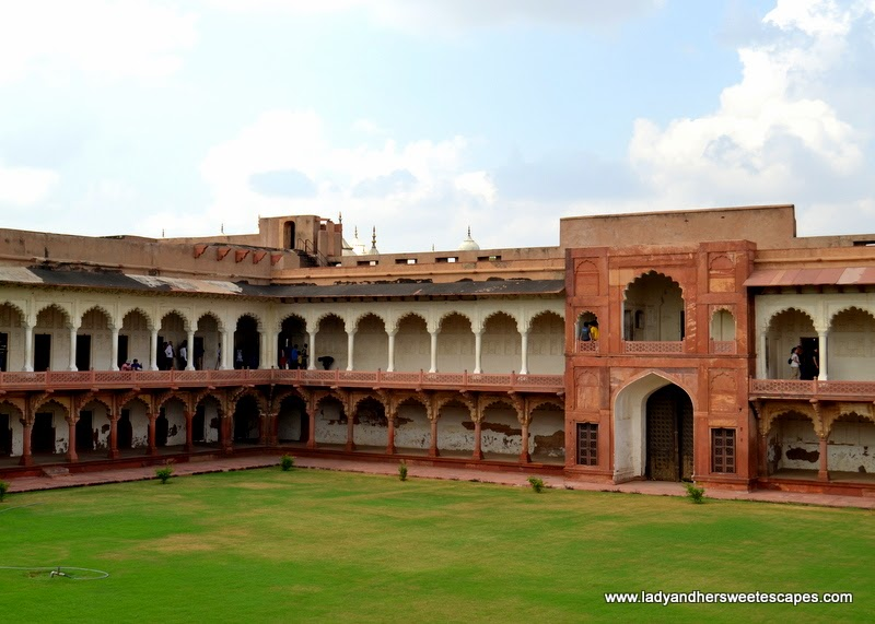 Ladies Bazaar in Agra Fort