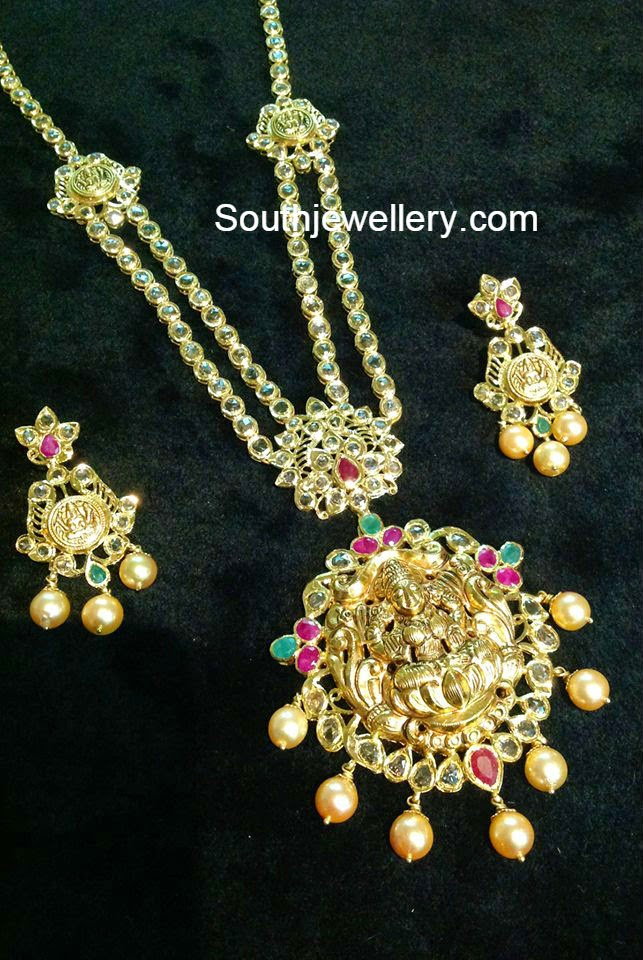 lakshmi pacchi necklace models