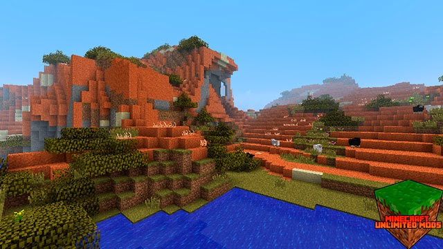 Biomes O' Plenty Mod Minecraft prado ovejas