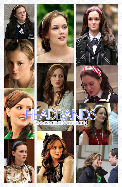 Blair's headbands Gossip Girl Grace Intemporelle