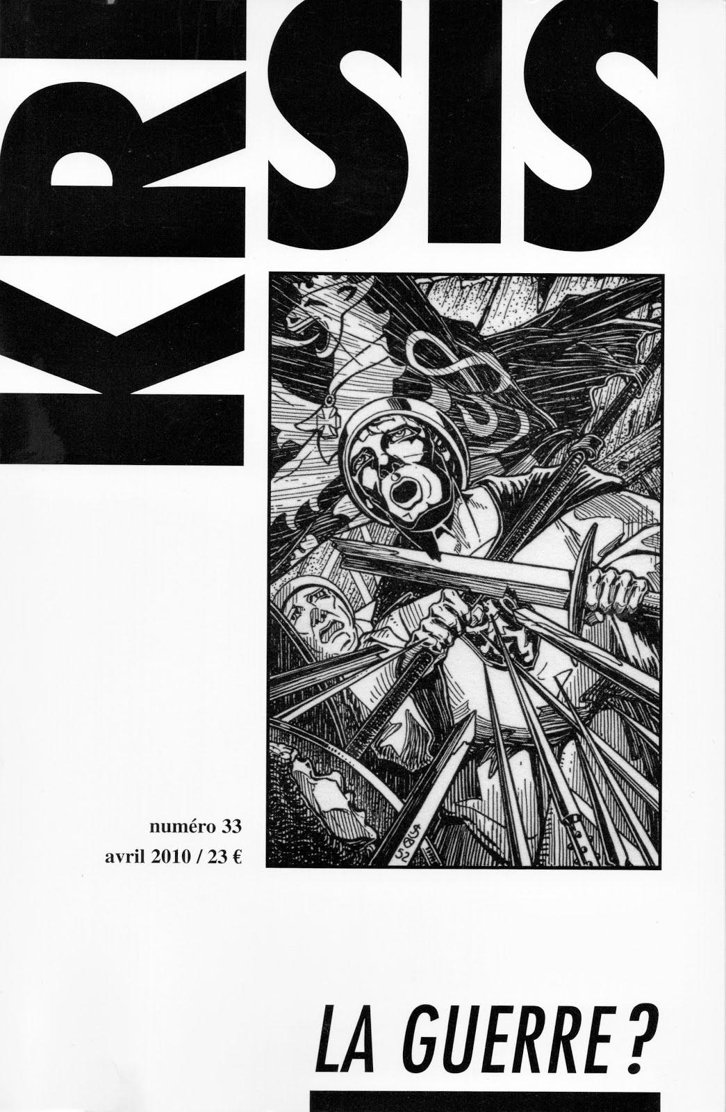 KRISIS 33 : LA GUERRE ?