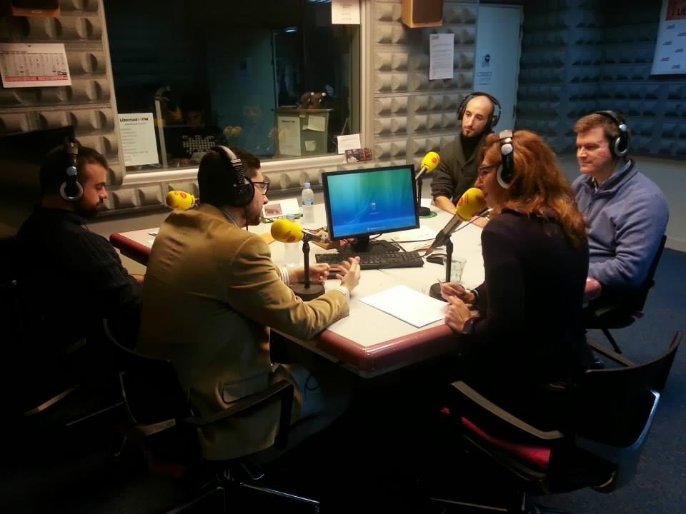 La Liga de Combate Medieval en la radio Con29letras-LCM-Cristian-Jacobo-Fernanando