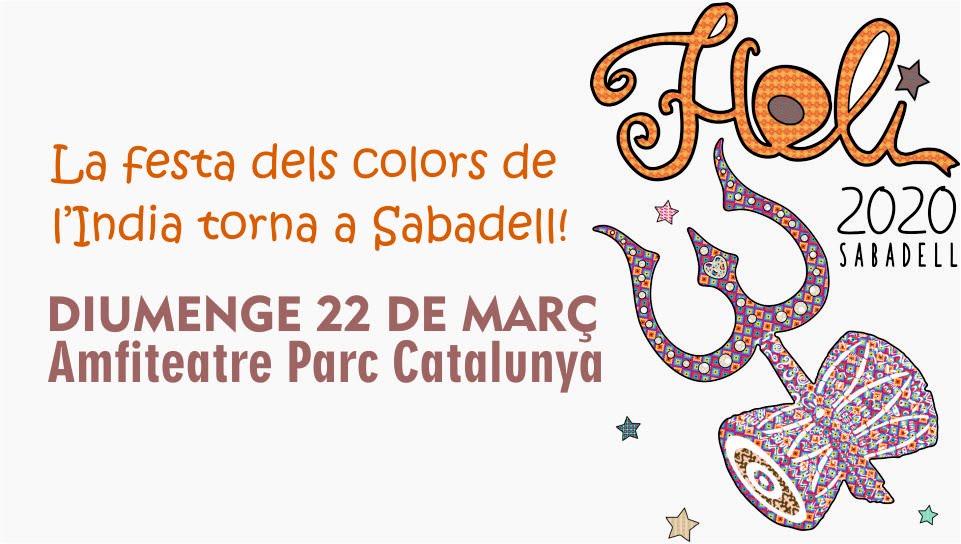HOLI SABADELL (BARCELONA) 2020 - LA MILLOR FESTA DE HOLI DE CATALUNYA!!