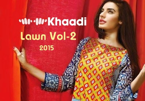 Khaadi Summer Collection 2014 Catalogue Khaadi Lawn Summer Collection