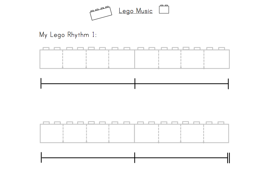 Elementary Music Resources Centers Lego Music – Elementary Music Worksheets