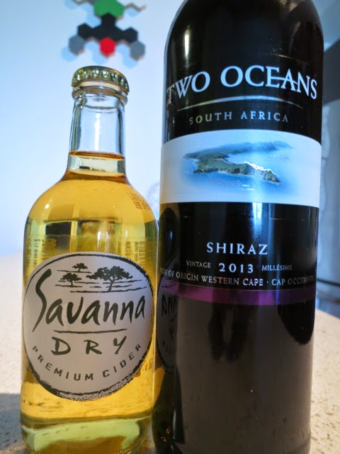 Celebrating Canada Braai Day with Savanna Premium Cider and 2013 Two Oceans Shiraz from South Africa
