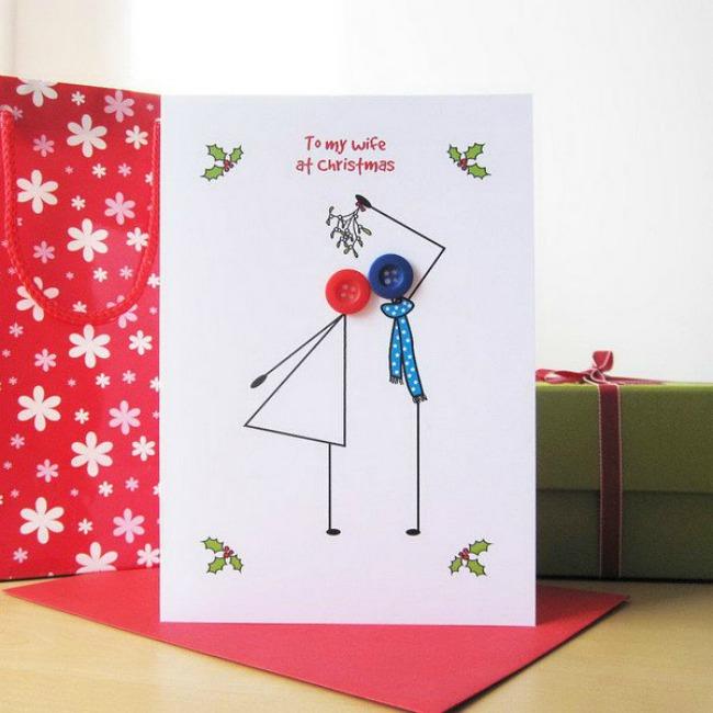 Navidad DIY: Tarjetas navideñas