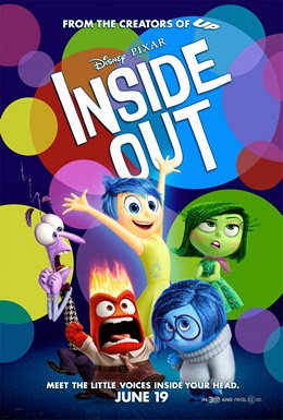 Movie Poster Inside Out 2015