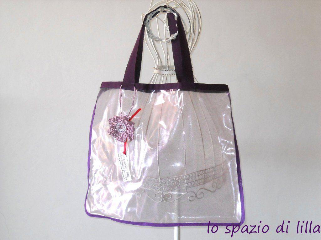 Borse Da Mare In Pvc : Lo spazio di lilla fatto a mano vendute borse mare in