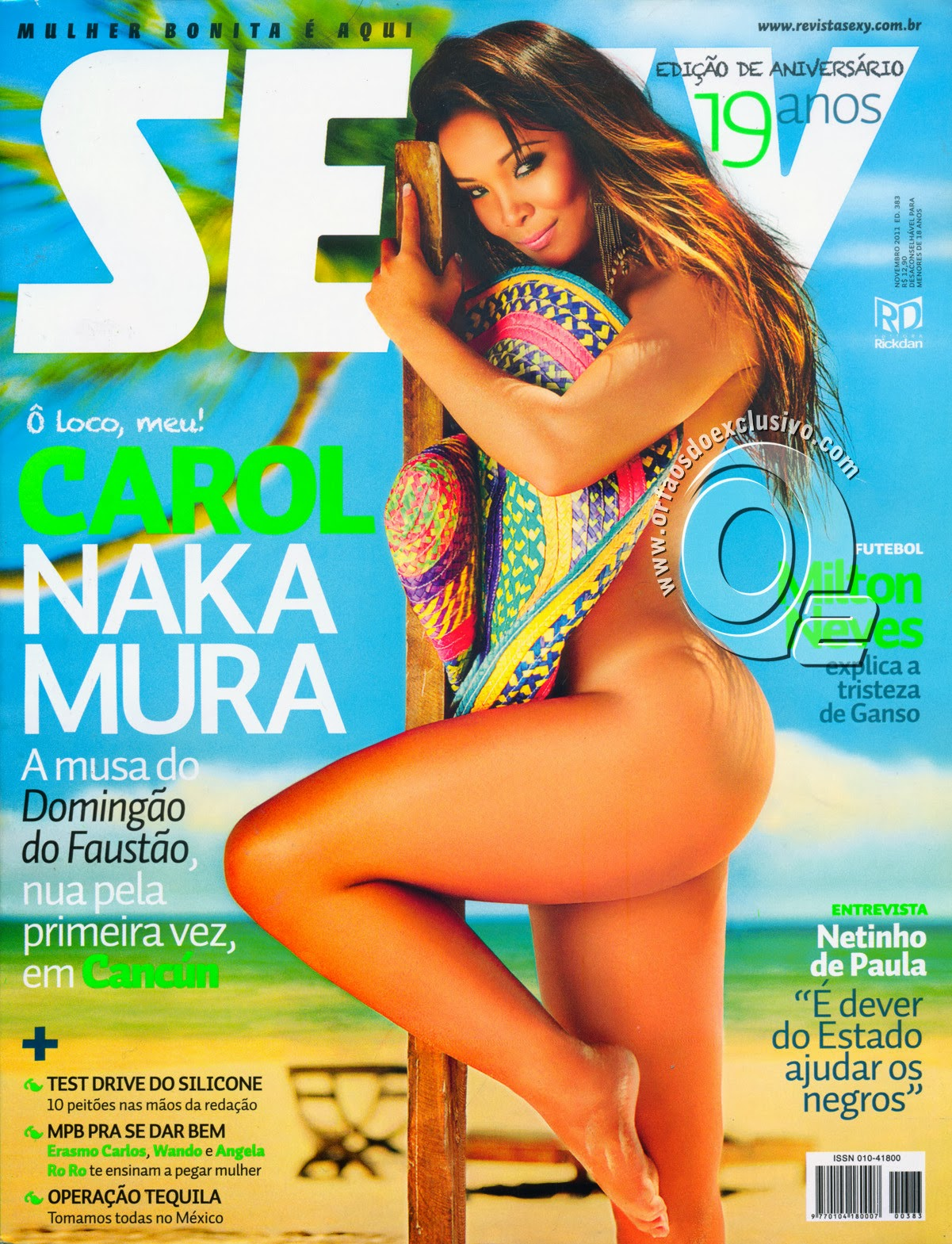 Carol Nakamura Pelada E Gostosa Na Revista Sey