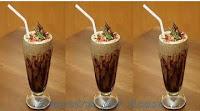 Milk Shake de Ovomaltine genérico e caseiro parecido com o do Bob's.