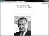 Presidential Pickup Lines