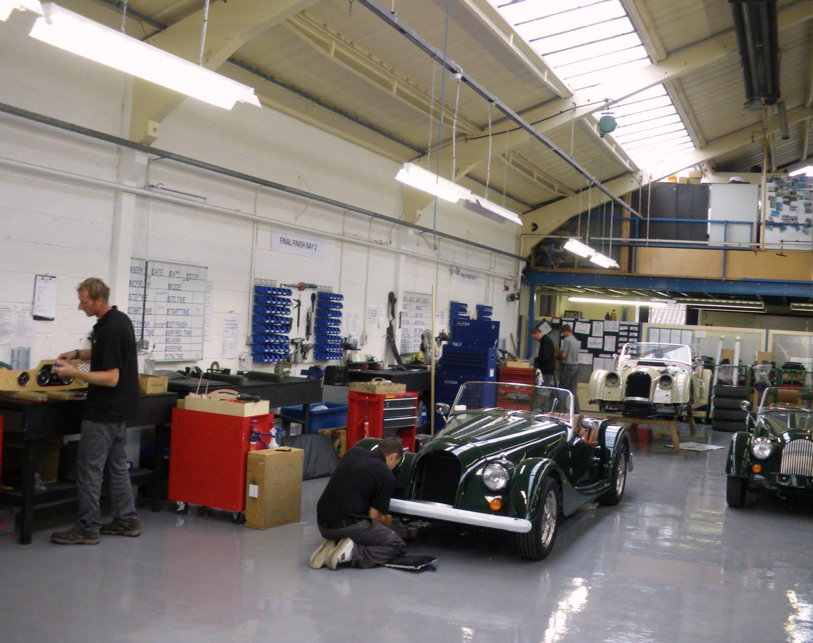 David Vicky and Howard Morgan Car Factory Malvern PtII Friday