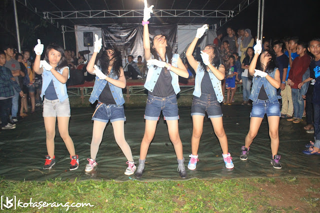 Perform The Five Dance @Kedai_Ceriaa @KotaSerang