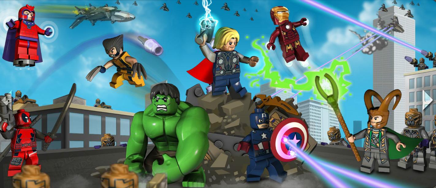 Marvel Super Heroes 60 Superhéroes: Super Hero: Marvel Super Hero Toys