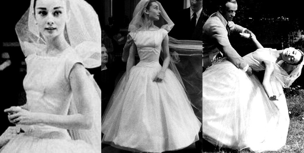 Morningstar Pinup Audrey Hepburns Funny Face Wedding Dress
